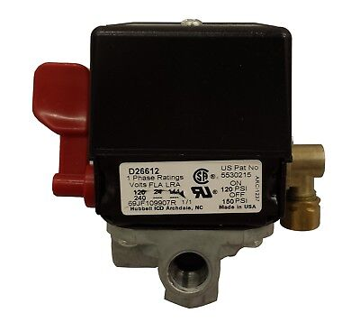 5140117-89 Porter Cable Air Compressor Pressure Switch 150/120 PSI Craftsman