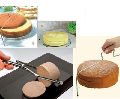 Adjustable Cake Cutting Wire Leveller Decoration Professional Cutter Slicer Tool