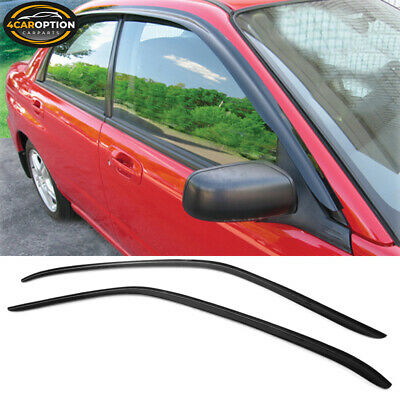 For 02-07 Subaru Impreza WRX STI Acrylic Window Visors 2Pc Set