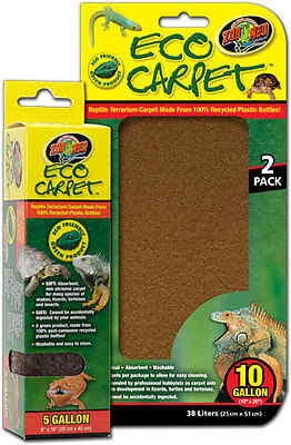 Zoo Med Reptile Eco Cage Carpet