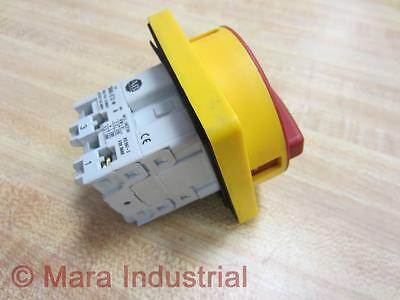 Allen Bradley 194L-E12-* Load Switch 194LE12 With On/Off Switch