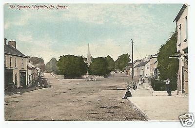 irish postcard ireland cavan the square virginia