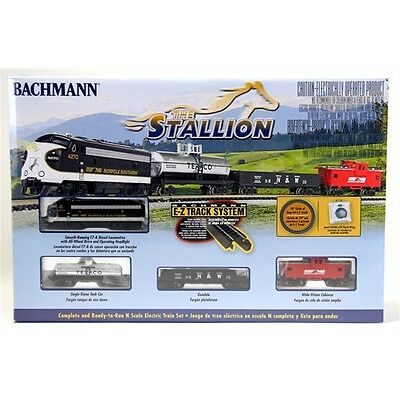 Bachmann N The Stallion Train Set 24025 NEW NIB