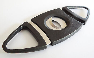 50-Pack Double Blades Guillotine Cigar Cutter Pocket Knife Scissors Stainless