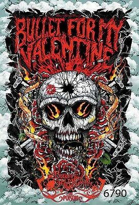 """BULLET FOR MY VALENTINE Music Paper Poster #3 24""""x35"""""""