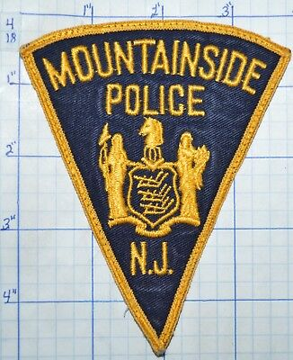 New Jersey, Mountainside Police Dept Patch