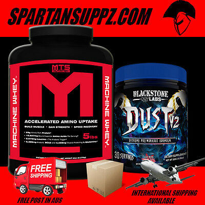 Mts Nutrition Whey Protein 5Lb 2.27Kg & Blackstone Labs Dust V2 Available Now!!!