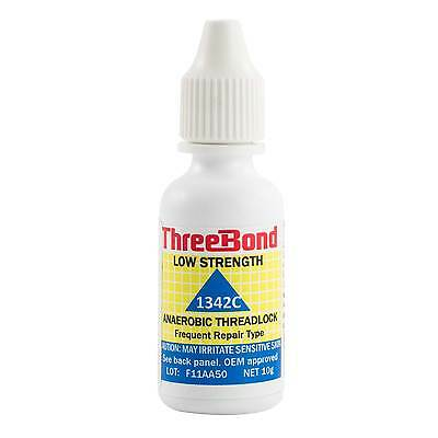 Three Bond Low Strength 10ml Bottle Screw Thread Lock - Seals Against Oil/Water