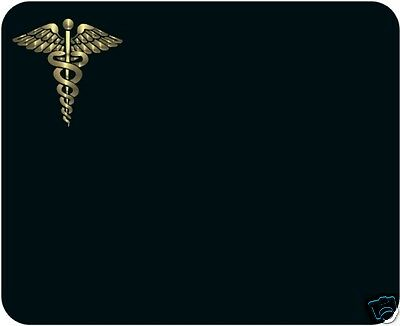 Doctor - Caduceus Mouse Pad - Free Personalizing!