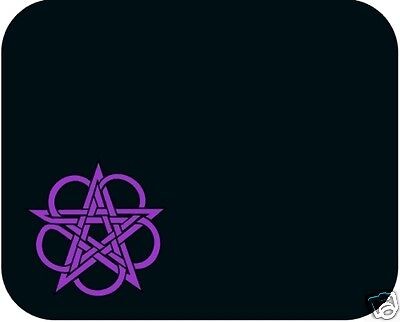 Celtic Pentagram Mouse Pad - Free Personalizing!