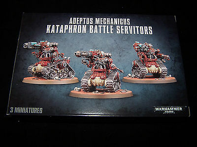 Adeptus Mechanicus Kataphron Servitor Arms and Weapons (Bits)