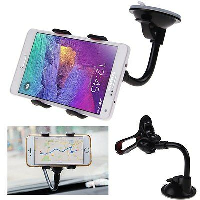 Universal For GPS Mobile Phone Car Windscreen Suction Mount Holder Cradle Stand