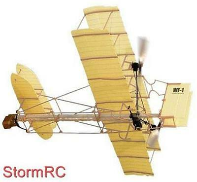 Wright Brothers Flyer Rubber Band Powered FreeFlight Model UK Sale
