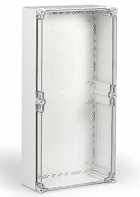 Electrical Enclosure NEMA 4X Polycarbonate 24x12x5 Waterproof w/Clear Cover DEAL