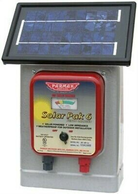 Parker McCory Parmak DF-SP-LI Solar Powered Fence Charger Up to 25 Miles