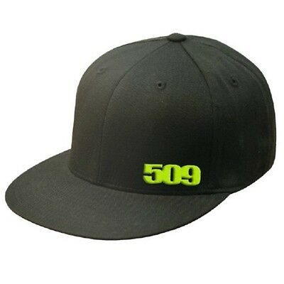 509 Limited Edition Flex-Fit Hat Baseball Cap - Black & Lime - 509-HAT-CLL-__