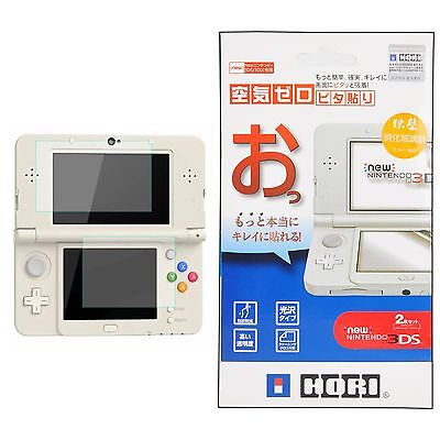 2in1 Top + Bottom Tempered Glass Film Screen Protector for NEW Nintendo 3DS