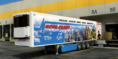 Italeri 1/24 Plastic Model Kit Reefer Trailer It03904