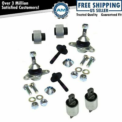 Front Control Arm Bushing Ball Joint Complete Kit Set for Volvo S60 S80 V70
