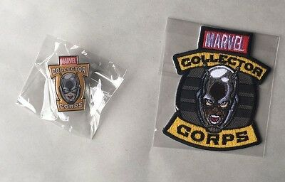 Ant-Man Exclusive Funko/ Marvel Collector Corps Iron On Patch And Collectors Pin