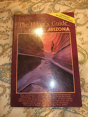 The Hiker's Guide to Arizona 1991 - 104 Hikes with black & white maps
