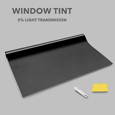 LIMO BLACK 5% CAR WINDOW TINT 6M x76CM FILM TINTING