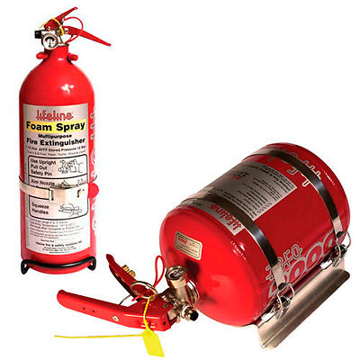 Lifeline Fire Marshal Mechanical Fire Extinguisher Pack 2.25 L/ 1.75 L Hand Held
