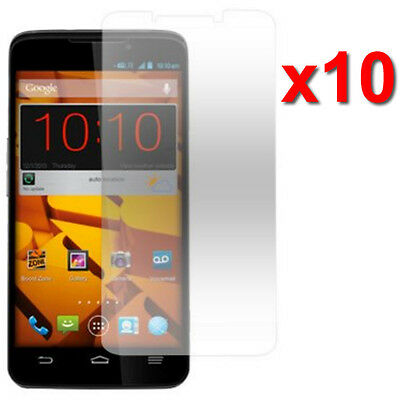 10X Crystal Clear LCD Screen Protector Film For ZTE Boost Max Max+ N9520