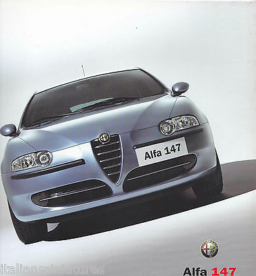 Alfa Romeo 147 6 Page Fold Out Brochure Colour MINT Top Quality