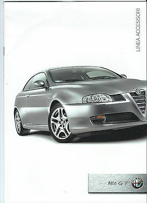 Alfa Romeo GT Linea Accessori Accessories UK Brochure 2004 Excellent Condition
