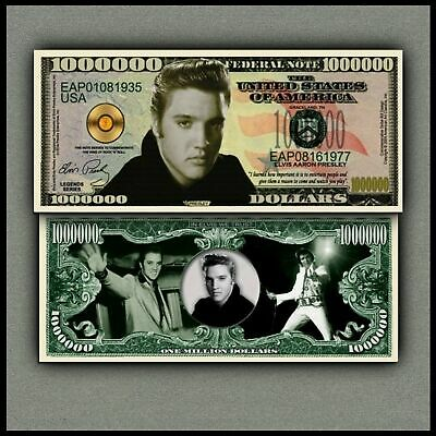 Elvis Presley Million Dollar Bill