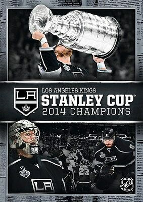 LOS ANGELES KINGS STANLEY CUP 2014 CHAMPIONS New Sealed DVD