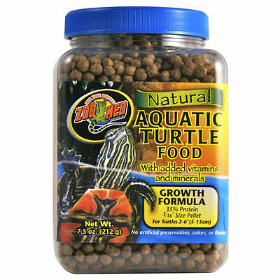 Zoo Med Natural Aquatic Turtle Food - Growth Formula