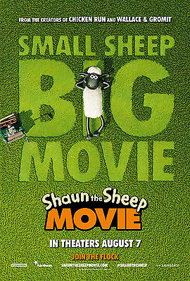 Shaun The Sheep - original DS movie poster - 27x40 D/S Advance