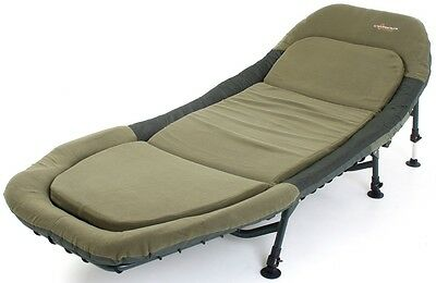 Cyprinus  Carp Fishing Bed Chair Bedchair with Memory Foam Rrp �249.99