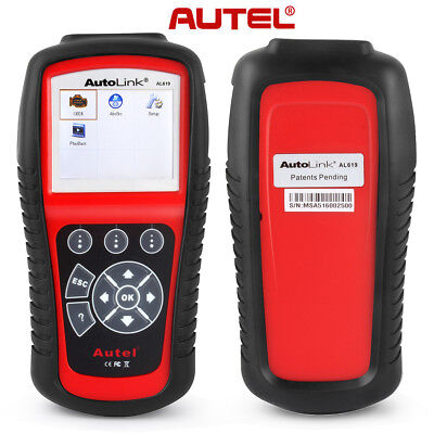 Genuine Autel Autolink AL619 CAN SRS ABS AirBag Auto Scanner Tool Code Reader