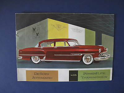 1954 DeSoto Full Line Sales Brochure C5940