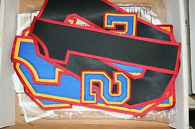 """Stahls 12"""" 2 And 3 Color Tackle Twill Numbers"""