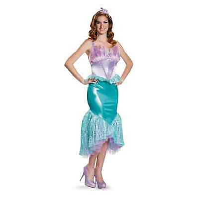 LITTLE MERMAID COSTUME Adult Ariel Halloween Fancy Dress - $79.99 ...