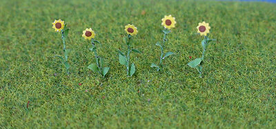 "JTT Scenery Products Pack of 16 Sunflowers 1"" # 95523"