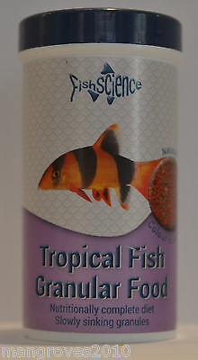 Fish Science Tropical Fish Granular Food 130g & 55g