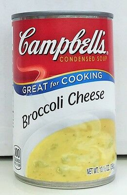 Campbell's Broccoli Cheese Condensed Soup 10.5 oz 3 Cans Campbells