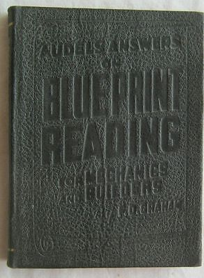 Audels Answers on Blue Print Reading for Mechanics and Builders F D Graham 1943