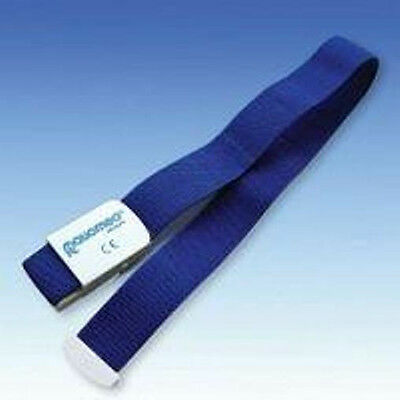 (5,30 €/ 1ea) Tourniquet for One-hand operation, Blue, Band Length 45 cm
