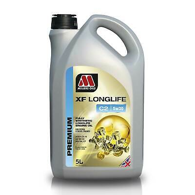 Millers Oils 5 Litres Of XF Longlife C2 Fully Synthetic 5W30 Engine Oil