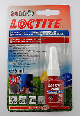 Loctite 2400 OEM Specified Medium Strength Thread Lock & Sealant- Stud/ Nutlock
