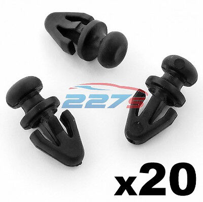 10x Door Panel Gasket Clips for Ford Mondeo Mk2 Mk3 Mk4 Galaxy 1042065