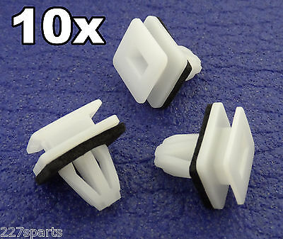 10x Honda Civic CRV Side Skirt, Sill Guard Moulding, Rocker Cover Trim Clips