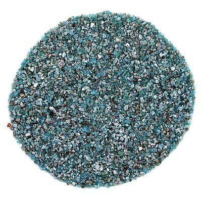 1/4 Ounce Blue Apatite Crystal Jewelry Craft Inlay Sand Painting Pieces