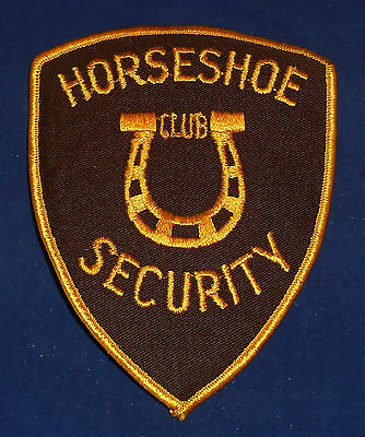 Nevada: Horseshoe Club Security Shoulder Patch (invp1069)